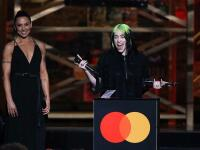 Billie Eilish bei den Brit Awards